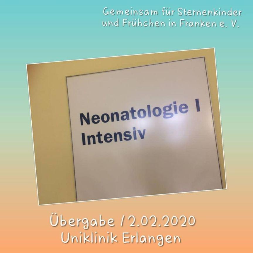 Übergabe Kinderklinik Erlangen – Februar2020