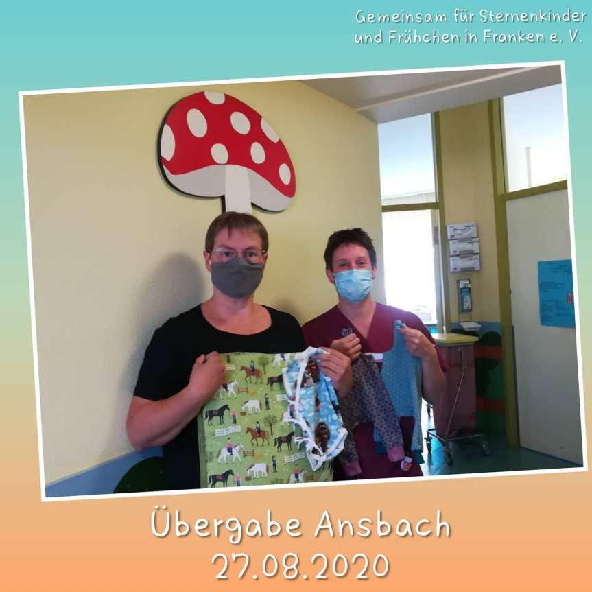 Übergabe Cnopf'sche Kinderklinik Nürnberg/Ansbach- August2020