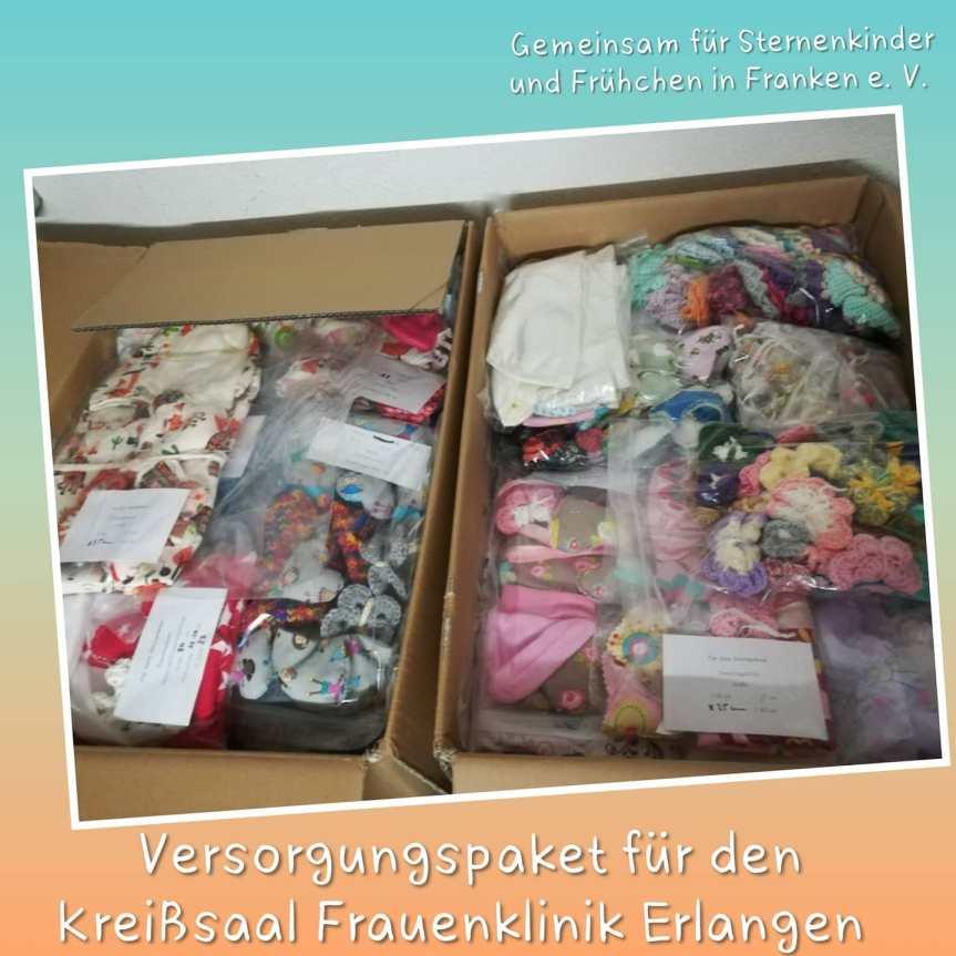 Übergabe Frauenklinik Uni Erlangen – Juni2021